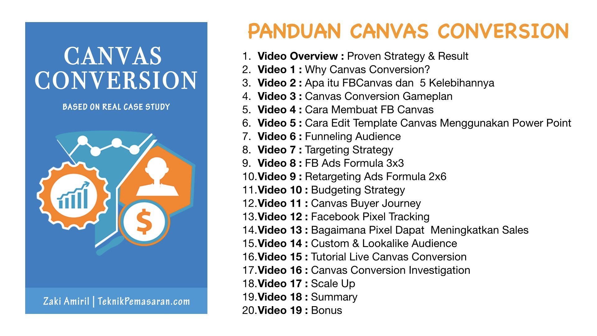 Modul Canvas Conversion