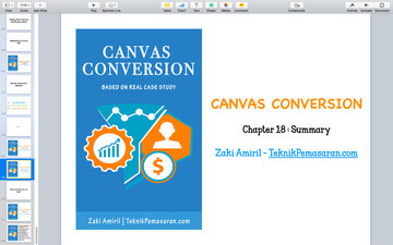 panduan canvas conversion chapter 18