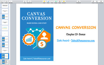 panduan canvas conversion chapter 19